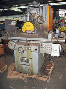 10 X 24 Gallmeyer Livingston Model 360 Hydraulic Horizontal Surface Grinder