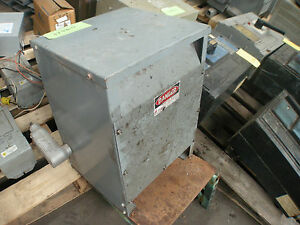 25 Kva Square D Single Phase Transformer Cat 13151 12212 018