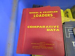 Comparative Data Wheel Crawler Tractors Vol 2 F To Others