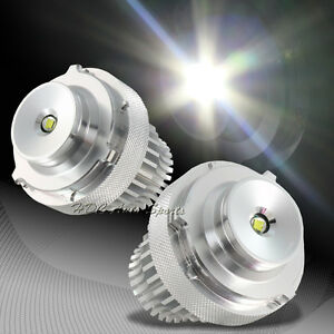 For Bmw E60 e61 m5 Ultra Bright White Led 10w Angel Eye Halo Replace Bulbs Pairs