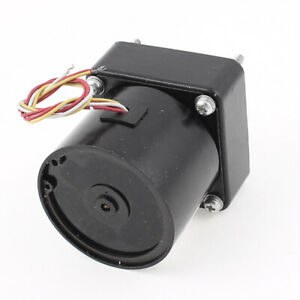 Ac220v 5rpm High Torque Reversible Gear Motor Speed Reducer Eccentric Shaft
