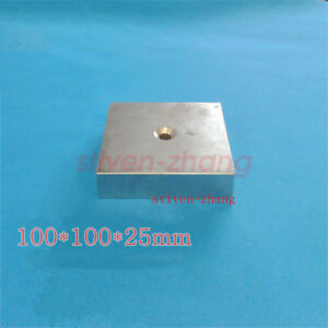 4 X4 X 1 Inch N52 Super Strong Large Neodymium Block Magnet Rare Earth Magnet