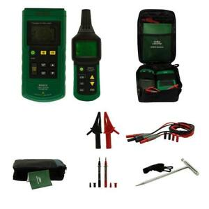 Ms6818 Underground Wire Cable Metal Pipe Locator Detector Tracker Tester