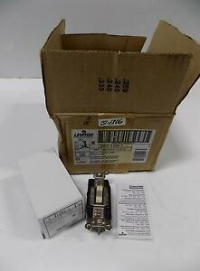 Leviton Ivory Spdt Double Throw Contact Toggle Switch Lot Of 9 1285 i Nib