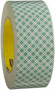 3m Double Coated Paper Tape 410m 2 In 2 Width X 36 Yd Length 5 0 Mil 3 Core
