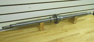 Precision Ground Ballscrew 2 Thread Dia 250 Lead new surplus