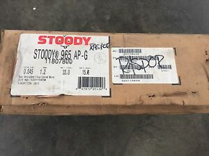 Stoody 965 Ap g 045 Dia Gas Shielded Flux Cored Wire 11807800