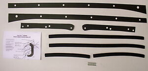47 48 49 50 51 52 53 54 55 Chevy Truck Front Fender Gasket Set