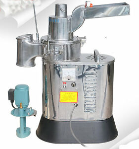 Df 40s Automatic Continuous Herb Grinder Hammer Mill Pulverizer 40kg h