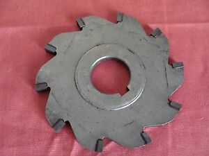 Unkown Mfg Carbide Tipped Slotting Saw 4 X X 1 No Teeth 10