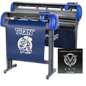 28 Uscutter Titan 3 Vinyl Cutter Plotter With Arms Contour Cutting Professional