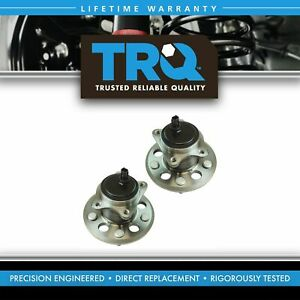 Rear Wheel Bearing Hub Assembly Lh Rh Kit Pair Set For Toyota Avalon Camry New