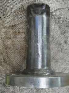 5 Stainless Steel Flange W Ss 1 1 2 Pipe Welded