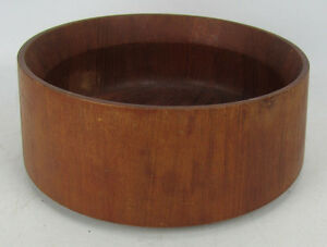 Dansk Designs Ihq Mid Century Danish Modern Wood Salad Serving Bowl