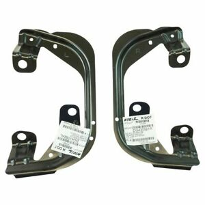 Fog Light Lamp Bracket Lh Rh Pair For Dodge Ram 1500 2500 3500 Truck Pickup