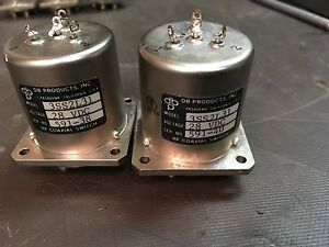 Lot Of 2 Db Products 3ss2l31 28v Sma Female Rf Coaxial Switch