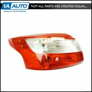 Tail Light Lamp Assembly Lh Lr Driver Side For 12 14 Ford Focus Brand New