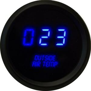 Intellitronix Led Digital Outside Air Temperature Gauge 2 1 16 M9123b