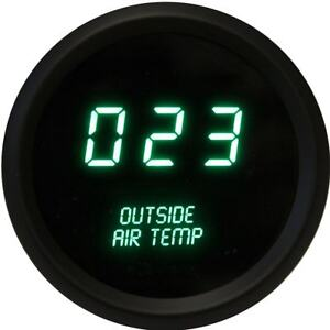 Intellitronix Led Digital Outside Air Temperature Gauge 2 1 16 M9123g