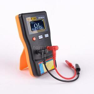 Professional Esr Capacitance Meter Capacitor Circuit Tester With Test Clips S0j3