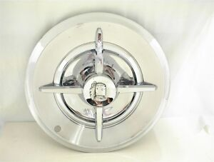 Dodge Spinner Hubcap Wheel Cover 14 Lancer Flipper 4 Bar 1955 1956 1957 1958