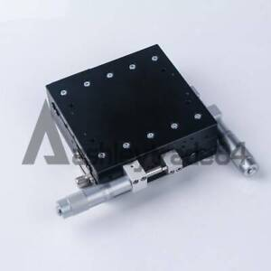 Xy axis Ly125 lm Stage Manual Slide Table Trimming Platform 125 125mm 46mm