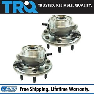Front Wheel Bearing Hub Assembly Lh Rh Set Of 2 Pair For Chevy Gmc 2500 3500