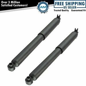 Rear Shock Absorber Lh Rh Pair 2pc For Canyon Colorado Torsion Bar New
