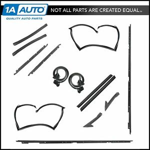 T top 15 Pc Rubber Weatherstrip Seals Set Complete Kit For 82 92 Firebird Camaro