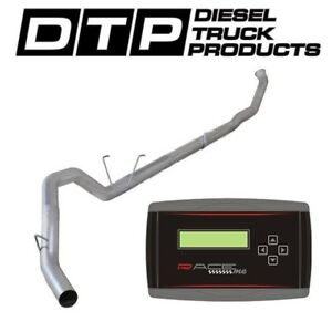 Raceme Jr 4 Exhaust Dpf Delete For Dodge Cummins Diesel 6 7 07 12