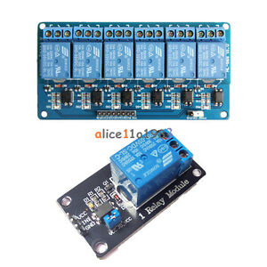 5v 1 6 Channel Relay Board Module Optocoupler Led For Arduino Pic Arm Avrc