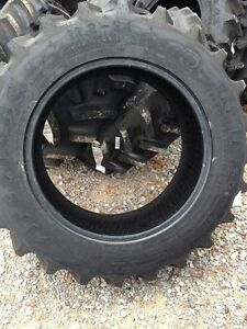 One 11 2x24 Firestone Sat Ii Ford John Deere 8 Ply R1 Bar Lug Farm Tractor Tire