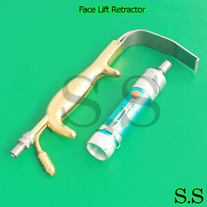 Face Lift Retractor With Reverse Handle Plastic Surgery Instruments bst 03
