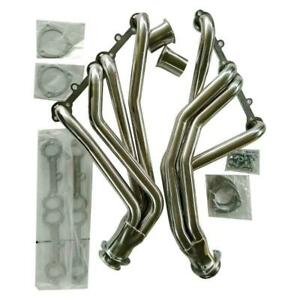 Stainless Racing Manifold Long Tube Header Exhaust For 84 91 Gmt C K 5 0 5 7 Sbc