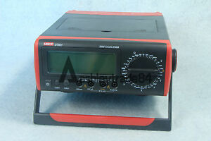 Bench Type Digital Multimeter Thermometer Lcd Display Data Hold Uni t Ut801