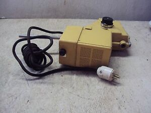 Heidolph Variable Speed Typ 50 113 Nr 195 Rzr 3ex 115v 1 4a 93w Used