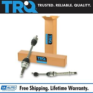 Trq New Complete Front Cv Axle Shaft Assembly Pair Set 2pc For Sienna Fwd 3 5l