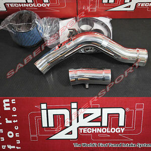 Injen Rd Series Polish Cold Air Intake Kit For 2002 2003 Nissan Altima 3 5l V6