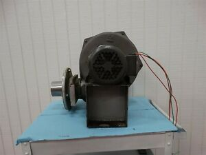 Cincinnati Fan Pb 10a Industrial Blower W Baldor Motor 1 5hp 3ph