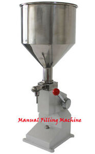 New 5 50ml Manual Filling Machine For Cream Shampoo Cosmetic liquid Filler