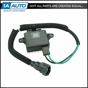 Engine Cooling Fan Control Module Relay W Plug Harness For Hyundai Brand New