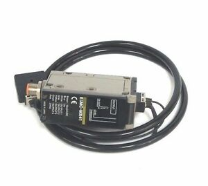 Omron E3mc mx41 Fiber Optic Color Sensor Rgb 12 24vdc E3mcmx41