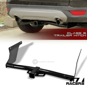 For 2013 2018 Ford Escape Class 3 Round Trailer Hitch Receiver Bumper Towing 2