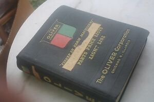 4 Oliver Tractor 1953 1960 Service Bulletins Exchange Prices And Manuals 1940