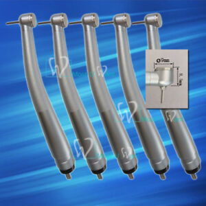 5x Dental Lab Mini Head Turbine High Speed Handpiece Push Wisdom Children Teeth