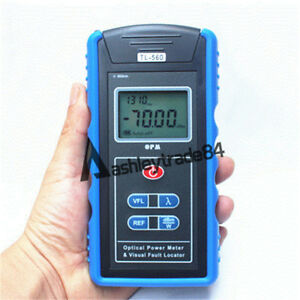 All in one Fiber Optical Power Meter 10mw Visual Fault Locator Tl 560 Blue