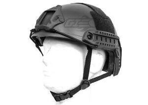 Lancer Tactical Ballistic Type Basic Version Helmet (Black) 15603