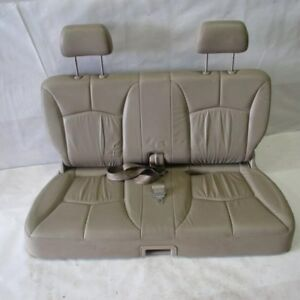 Third Row Seat Tan Leather With Seat Belts 00 Mazda Mpv Van R181470