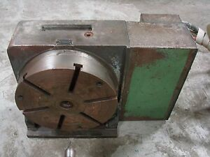 Yuasa Cnc 4th Axis Rotary Table With Tailstock