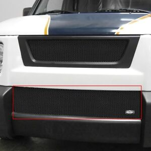 Honda Element 03 08 Grillcraft 1 Pc Mx Series Black Fine Mesh Bumper Grille
